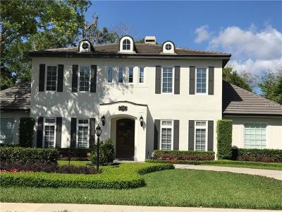 Winter Park FL Single Family Home For Sale: $1,895,000