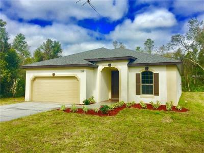 Debary Single Family Home For Sale: 334 Colomba Road