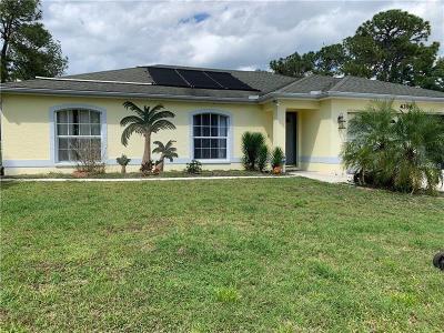 North Port Single Family Home For Sale: 4396 Sunburst Avenue