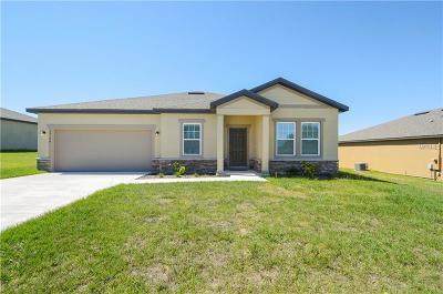 Mascotte Single Family Home For Sale: 15124 Sora Street