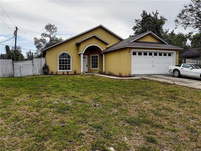 Deltona Single Family Home For Sale: 1112 Manitoba Street