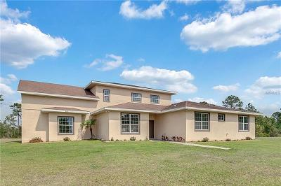 Orlando Single Family Home For Sale: 19311 Lake Pickett Road