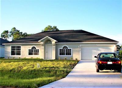 Palm Bay Single Family Home For Sale: 1690 Walker Street SE