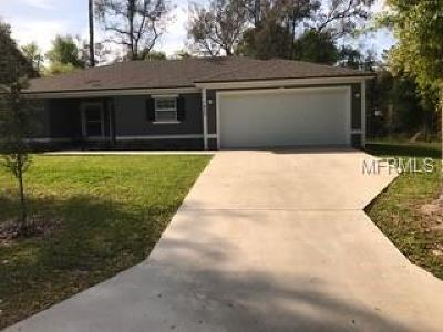 Orange City Single Family Home For Sale: 1400 18th Street