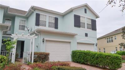 Orlando Townhouse For Sale: 5917 Strada Capri Way