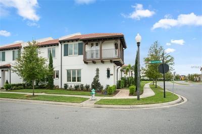 Orange County, Osceola County Townhouse For Sale: 8806 Bismarck Palm Drive