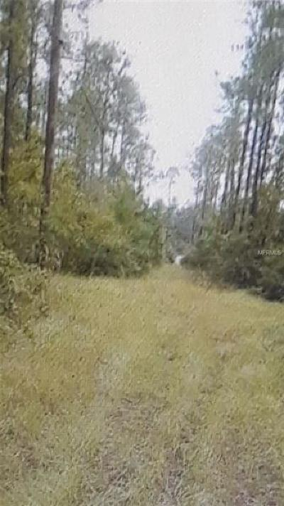 Volusia County Residential Lots & Land For Sale: University Highlands N Of Hwy