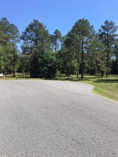 Eustis Residential Lots & Land For Sale: 35734 High Pines Drive