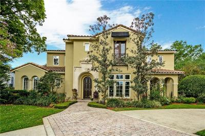 Winter Park Single Family Home For Sale: 2351 Via Tuscany