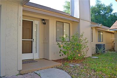 Winter Springs Townhouse For Sale: 756 Tanglewood Road