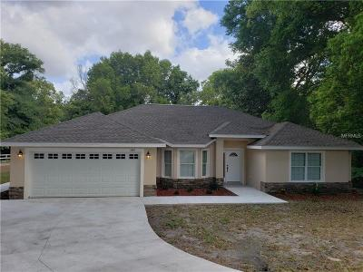Apopka Single Family Home For Sale: 1531 Votaw Road