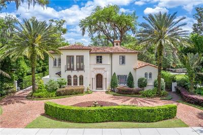 Winter Park Single Family Home For Sale: 900 N Park Avenue