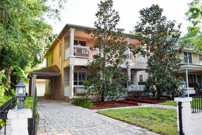 Orlando Single Family Home For Sale: 629 E Ridgewood Street