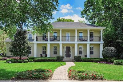 Winter Park Single Family Home For Sale: 450 Lakewood Drive