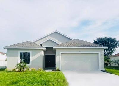 Clermont, Davenport, Haines City, Winter Haven, Kissimmee, Poinciana Single Family Home For Sale: 313 Corsica Court