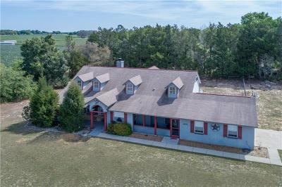 Leesburg Single Family Home For Sale: 41936 County Road 452