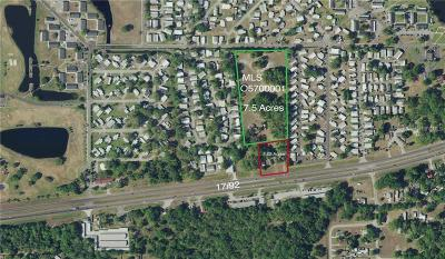 Kissimmee Residential Lots & Land For Sale: 4011 S Orange Blossom Trail