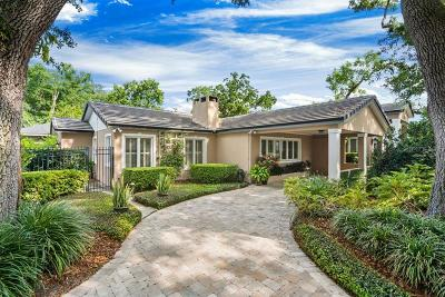 Winter Park Single Family Home For Sale: 1701 Palmer Avenue