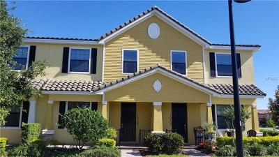 Orlando Townhouse For Sale: 10108 Eagle Creek Center Boulevard