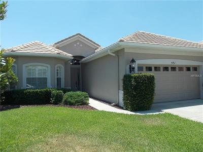 Debary Single Family Home For Sale: 551 Newhall Lane