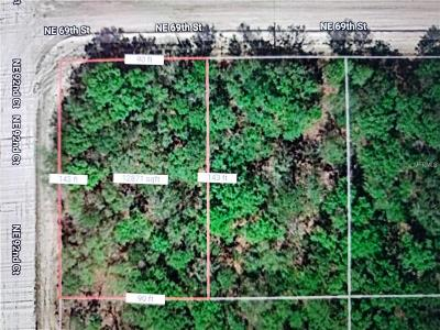 Levy County Residential Lots & Land For Sale: NE 69 Th Street