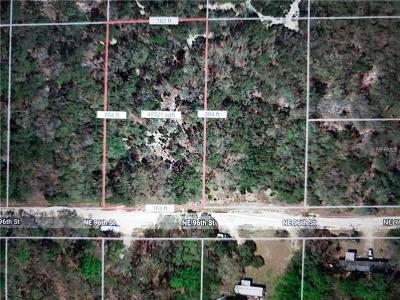 Levy County Residential Lots & Land For Sale: NE 96 Th Street