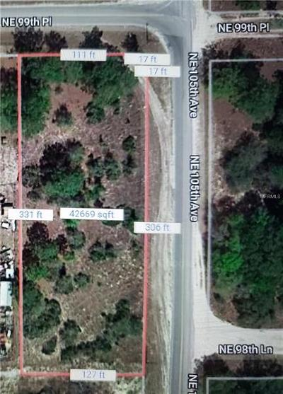 Levy County Residential Lots & Land For Sale: NE 99 Th Street