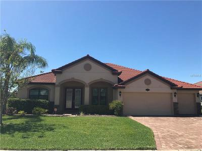 Lakeland Single Family Home For Sale: 3950 Sunset Lake Drive