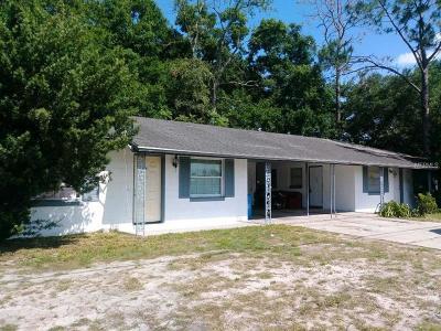 Orange County, Osceola County, Seminole County Multi Family Home For Sale: 4883 N Pine Hills Road