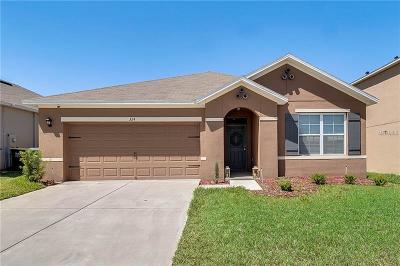 Davenport Single Family Home For Sale: 324 Aberdeen Drive