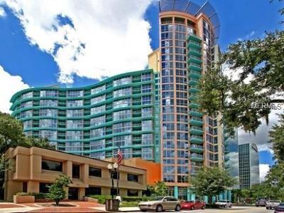Orlando Condo For Sale: 322 E Central Boulevard #814