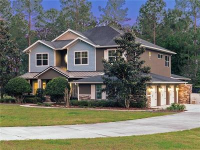 Eustis Single Family Home For Sale: 35732 Panther Ridge Road