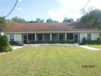 Belleview Single Family Home For Sale: 5954 SE 122nd Place