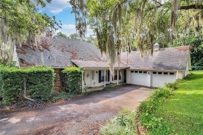 Eustis Single Family Home For Sale: 1630 Lake Nettie Court