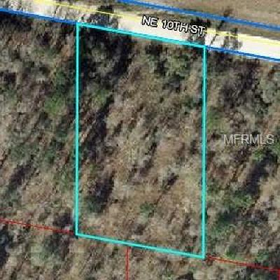 Levy County Residential Lots & Land For Sale: NE 10 Street