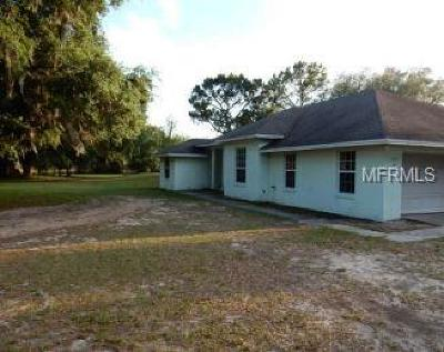 Polk County Single Family Home For Auction: 1320 Holy Cow Road