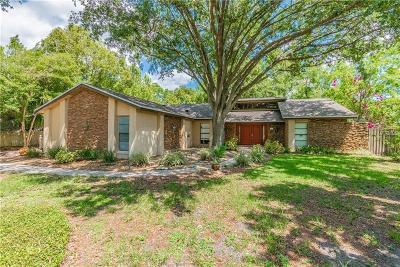 Winter Springs Single Family Home For Sale: 1203 Trotwood Boulevard