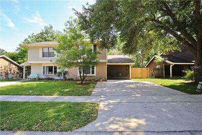 Winter Park Townhouse For Sale: 7761 Fernbrook Way