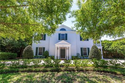 Winter Park Single Family Home For Sale: 1640 Palmer Avenue