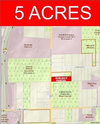 Apopka Residential Lots & Land For Sale: 5221 Plymouth Sorrento Road