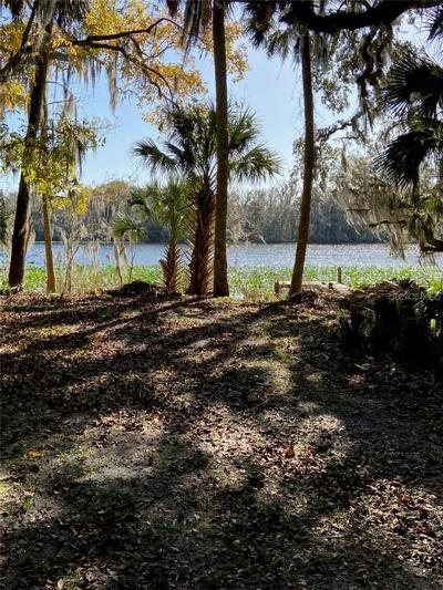 Debary Residential Lots & Land For Sale: 605 Fort Florida Point Road