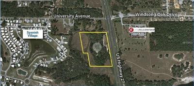 Leesburg Residential Lots & Land For Sale: Us Hwy 27