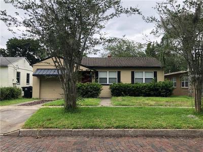 Orlando Single Family Home For Sale: 1419 Park Lake Street