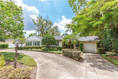 Winter Park Single Family Home For Sale: 1660 Palmer Avenue