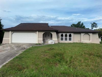 Port Charlotte Single Family Home For Sale: 3310 Manhattan Street