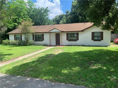 Eustis Single Family Home For Sale: 160 W Seminole Avenue