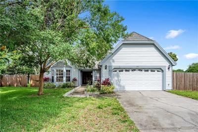 Orlando Single Family Home For Sale: 806 White River Drive
