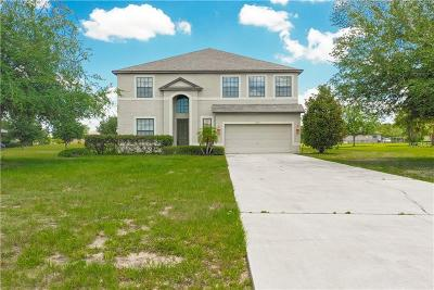 Lake County, Sumter County Single Family Home For Sale: 24215 Weldon Drive