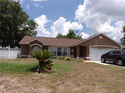 Deltona Single Family Home For Sale: 1458 Catalina Boulevard