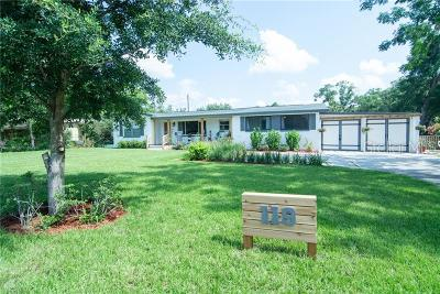 Winter Park Single Family Home For Sale: 119 Bell Place